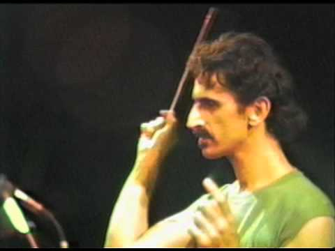 Quot Rdnzl Quot Excerpt Frank Zappa Palermo July 1982 Youtube