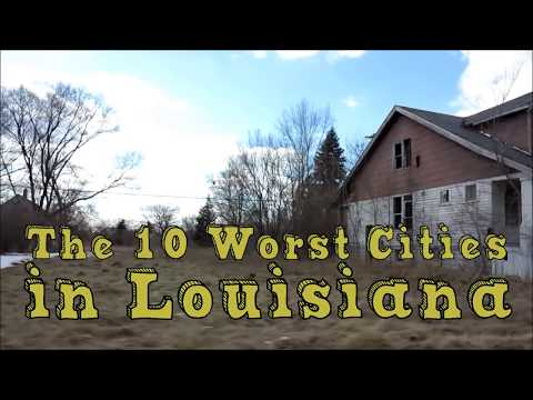 These Are The 10 WORST PLACES To Live In LOUISIANA