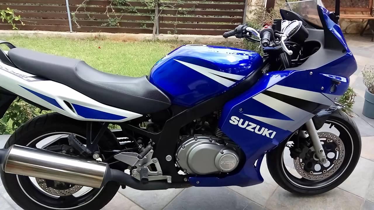 Suzuki gs500f 2006 - YouTube