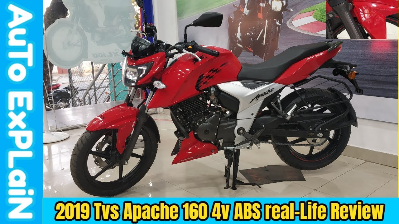 2019 TVS Apache 160 4v ABS Real-Life Review,