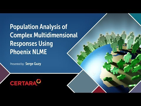 Population Analysis of Complex Multidimensional Responses using Phoenix NLME HD