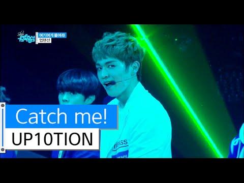 HOT UP10TION - Catch me!, 업텐션 - 여기여기 붙어라, Show Music core 20151205