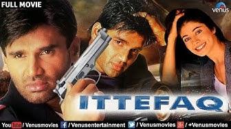 Ittefaq Full Movie   Bollywood Action Movies   Sunil Shetty Full Movies   Hindi Movies