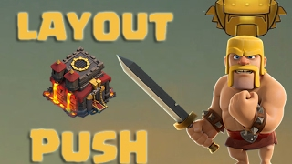 Layout cv10 push + replay - BEST LAYOUT PUSH TH 10 - Clash of clans