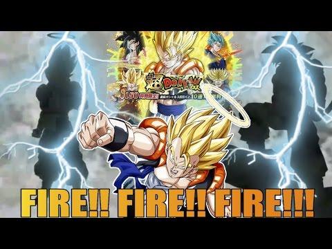 THE GREATEST SSR PULL!!!! FIREEEEEE! GOGETA BANNER! DRAGONBALL Z DOKKAN BATTLE! JP