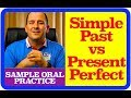 ESL Teaching PRACTICE - Simple Past vs PRESENT PERFECT - GAME!!! - Sample classroom video