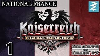 FRANCE IN EXILE 1 Kaiserreich Mod - Hearts of Iron IV HOI4 Paradox