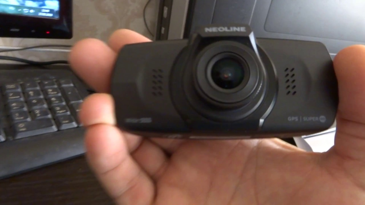 NEOLINE Wide S55 обновление GPS-базы - YouTube