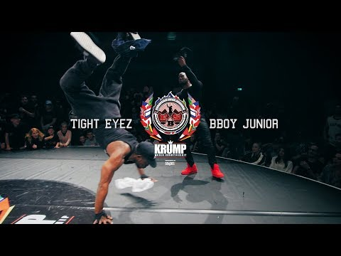 Tight Eyez vs BBoy Junior  Exhibition Battle  EBS 2017