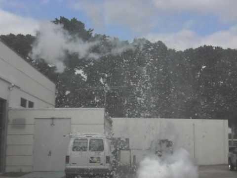 Liquid Nitrogen Explosion
