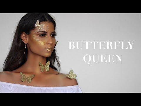 BUTTERFLY QUEEN   ARABIA FACE AWARDS 2017   DINA DASH