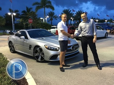 Lease a 2017 Mercedes SL450 in Miami | Panauto Leasing & Car Brokers in Florida