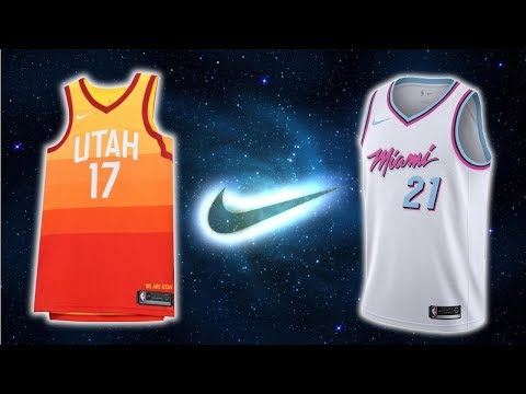 All 30 NBA Team Nike The City Edition Jerseys
