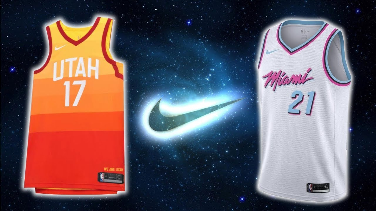 All 30 NBA Team Nike The City Edition Jerseys (2017) - YouTube 9a8d5414e