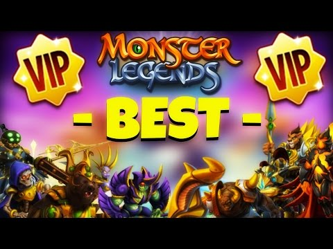 Monster Legends | Best VIP Monsters | Discussion