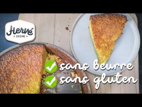 moelleux-à-l'orange-4-ingrédients-sans-beurre,-sans-gluten-😱