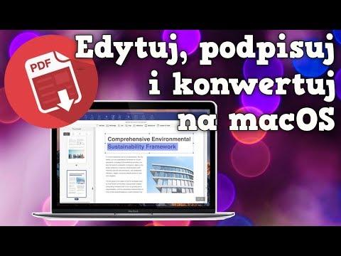 Edytuj, podpisuj i konwertuj PDF na Maku | PDFElement
