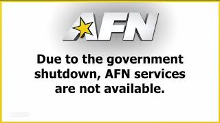 AFN services unavailable due to governement shutdown
