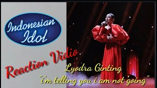 Download #indonesianidol Reaction Lyodra II Lyodra Ginting II and i'm telling you i am not going