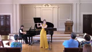 Sonata for flute and piano, II. Grave (J. Feld)