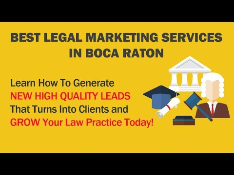 Boca Raton Legal Marketing Services-A Steady Flow Of New Clients-Law Firm Marketing Coral Springs