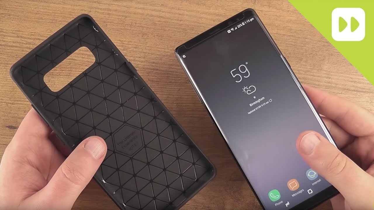 save off a8f84 7c3c8 Olixar Sentinel Samsung Galaxy Note 8 Case & Glass Screen Protector Review