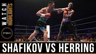 Shafikov vs Herring HIGHLIGHTS: July 2, 2016 - PBC on ESPN