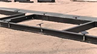 Сборка рельсового пути пилорамы своими руками (урок 5)