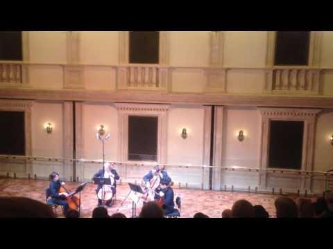 Концерт квартета виолончелей большого театра