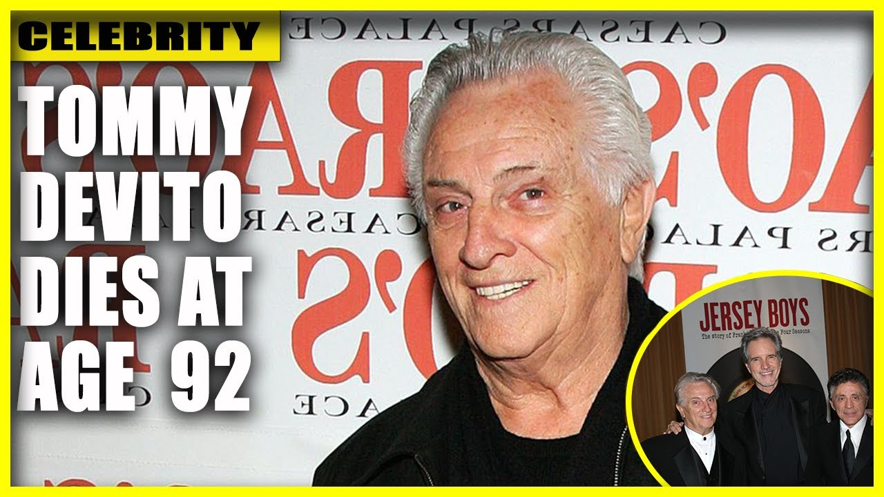 Tommy DeVito, a founding member of The Four Seasons, has died ...