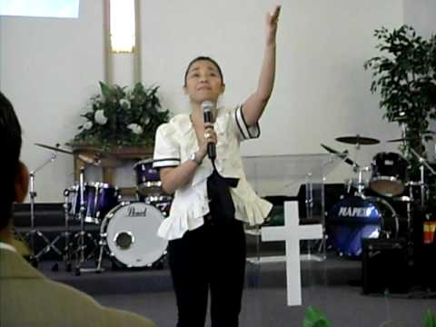 RUTH SAHANAYA SINGING IN POMONA CHURCH, CALIFORNIA