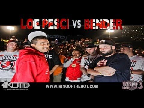 KOTD - Rap Battle - Loe Pesci vs Bender | #WD3