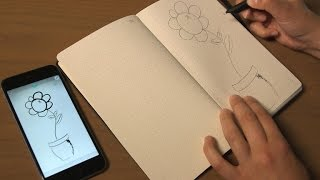 Digitize your handwriting and drawing (Tech Minute)