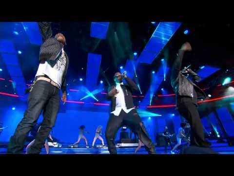 Pharrell Williams ft. Diddy, Nelly & Busta Rhymes Introducing Team East Coast @ NBA All Stars 2014