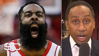 James Harden proved 'he's virtually unstoppable' vs. the Clippers - Stephen A. | SportsCenter