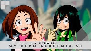 gr anime review my hero academia s1