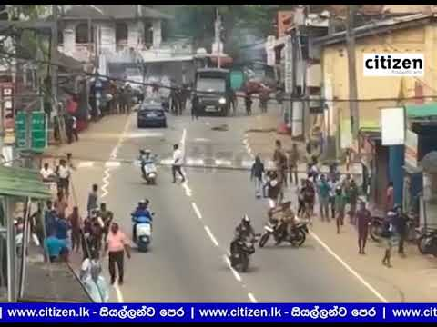 Tense Situation in Kandy