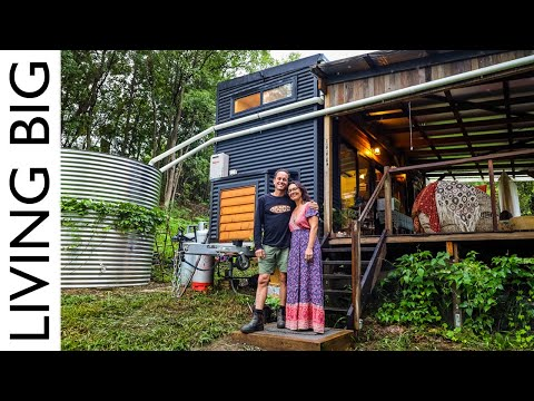 Off-The-Grid Tiny House & Stunning Syntropic Food Forest Gardens