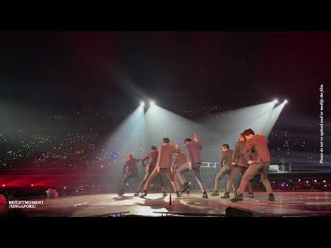 180303 EXO PLANET #4: The EℓyXiOn in SINGAPORE LOTTO (로또) - 직캠/FANCAM HD