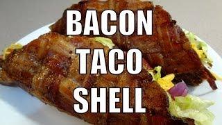 Bacon Taco Shell - Easy How To Make - Recipe - Bbqfood4u