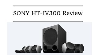 Sony HT IV300 review | 5.1ch Home Theatre | Bluetooth NFC
