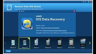How To Download Leawo iOS Data Recovery any ISO Iphone 5,5s,4, 4s ,3G,6,6S,7,7S, Also Iphone 8