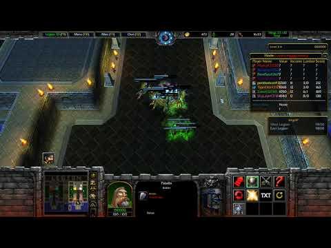Warcraft Legion TD 3.5  X10 - Fast Game
