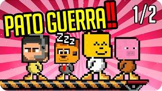 ESTO ES LA PATO GUERRA! PARTE 1 | DUCK GAME - Sarinha, Gona, Exo y Luh