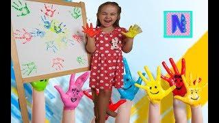 Учим цвета вредная Даша все испортила learn colors  Finger Family Song for children  learning kids