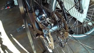 Налаштування гальм: Shimano Deore BR-M615
