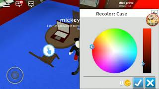 Mickey souris joue roblox-robloxian lycée