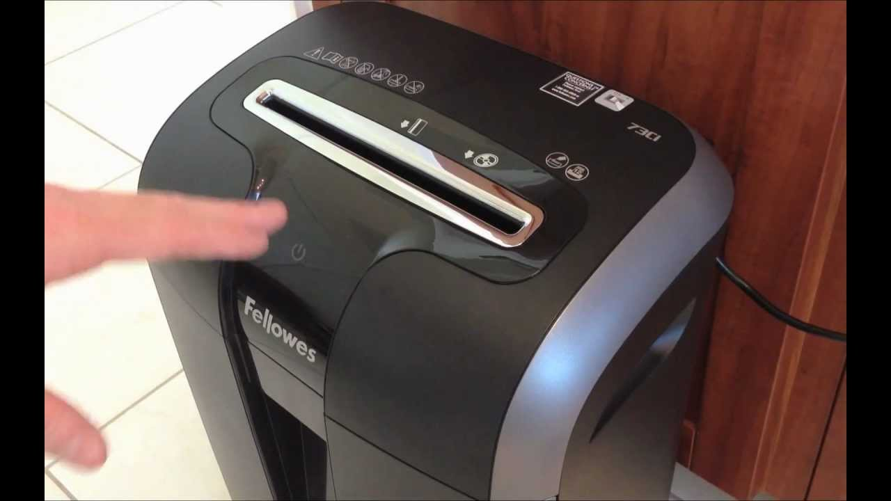 fellowes 73ci shredder review and demo youtube