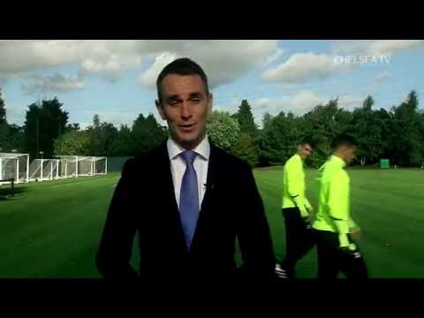PLAYERS vs PRESENTER: Costa, Hazard and Mikel prank Lee during his news links