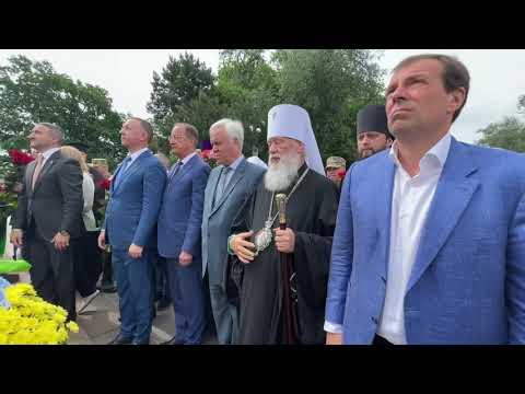 Митрополит Агафангел почтил память погибших в годы ВОВ